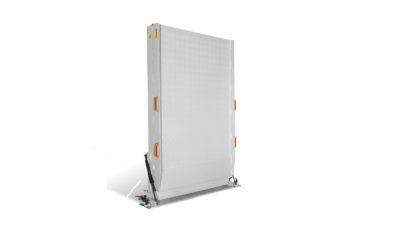 opklapbare oprijplaat gesloten raster 80 cm